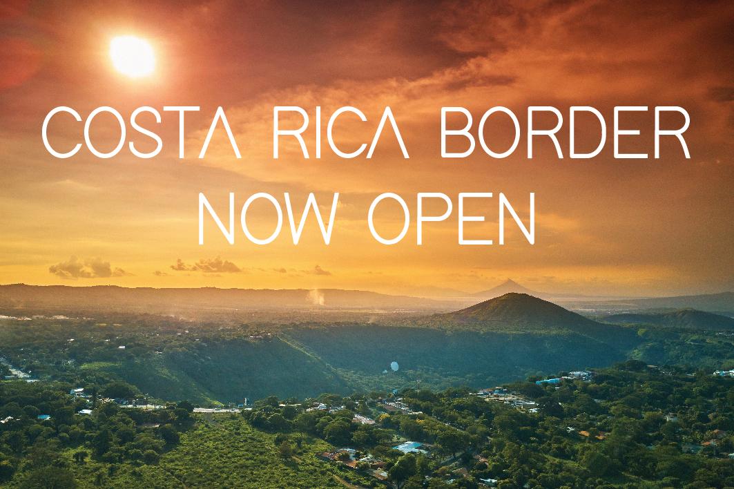 Costa Rica border now open